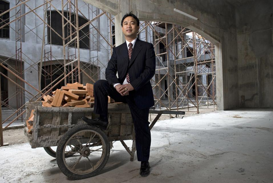 Cambodian Businessman Kith Meng.